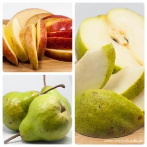 süße Äpfel und Birnen = Element Erde