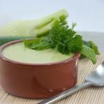Zucchini-Fenchel-Suppe