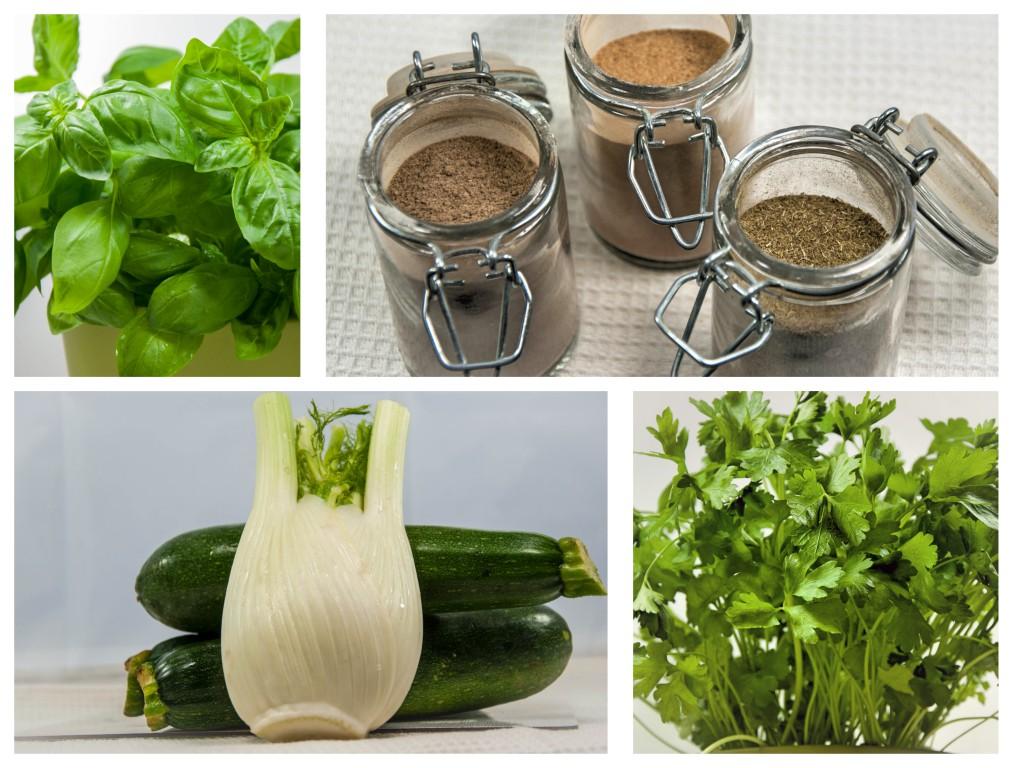 Zutaten für Zucchini-Fenchel-Suppe