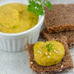 veganer Dinkel-Bohnen-Aufstrich