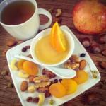 Kräutertee mit Orangen-Honig