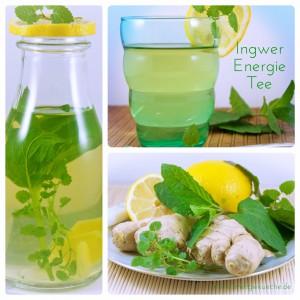 köstlicher Tee aus frischen Zutaten