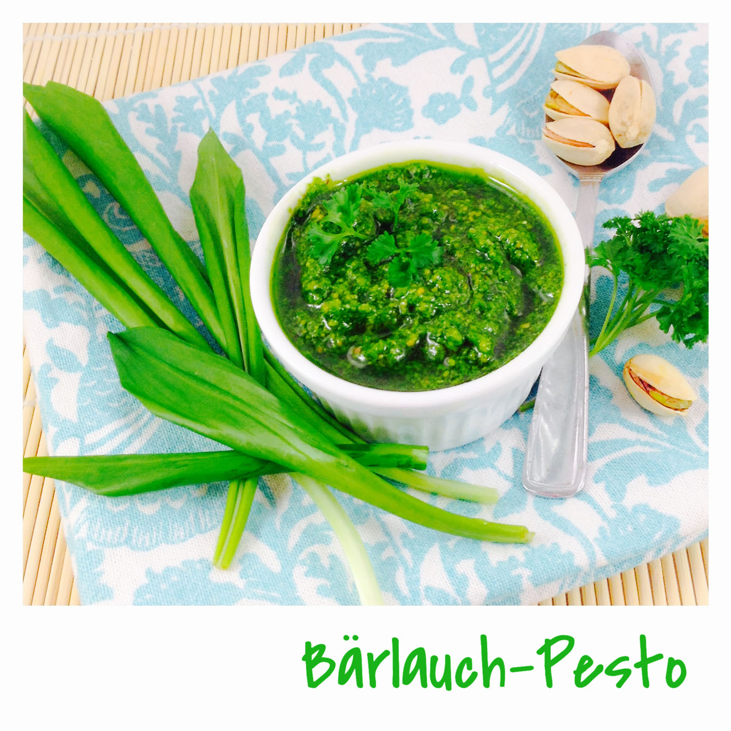 Bärlauch-Petersilien-Pesto
