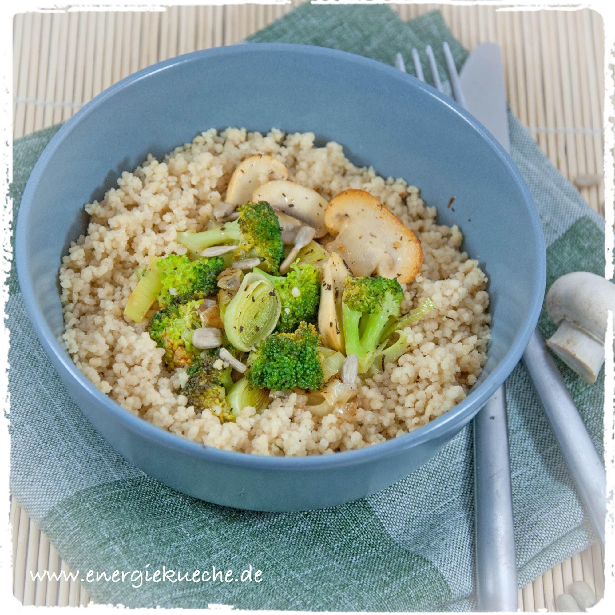 Leichtes Gemüse-Couscous