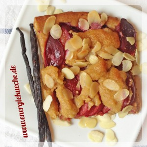 Veganer Pflaumen-Kuchen