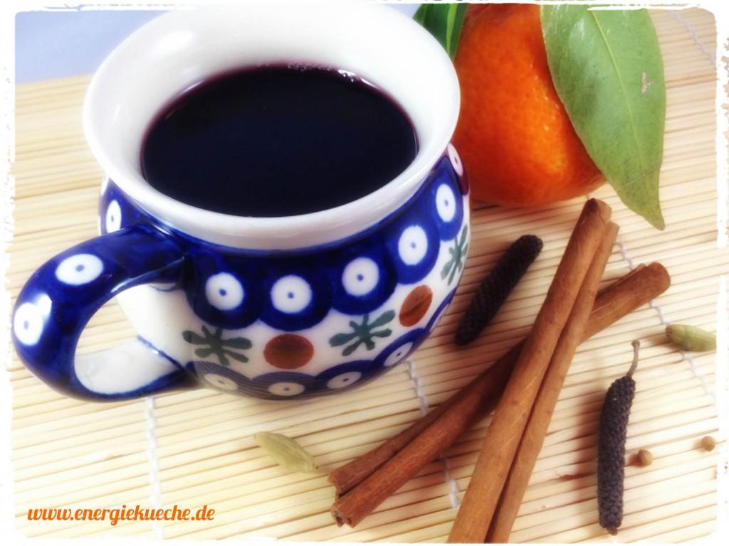 Köstlich-aromatischer Fruchtpunsch ohne Alkohol