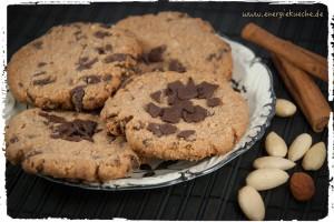 knusprige schokoladen cookies. Black Bedroom Furniture Sets. Home Design Ideas
