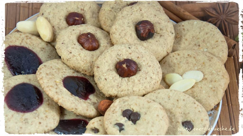 Diese veganen Nuss-Kekse sind so zart und köstlich!