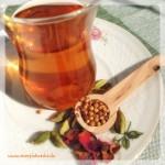 Verführerischer Schoko-Rosen-Tee