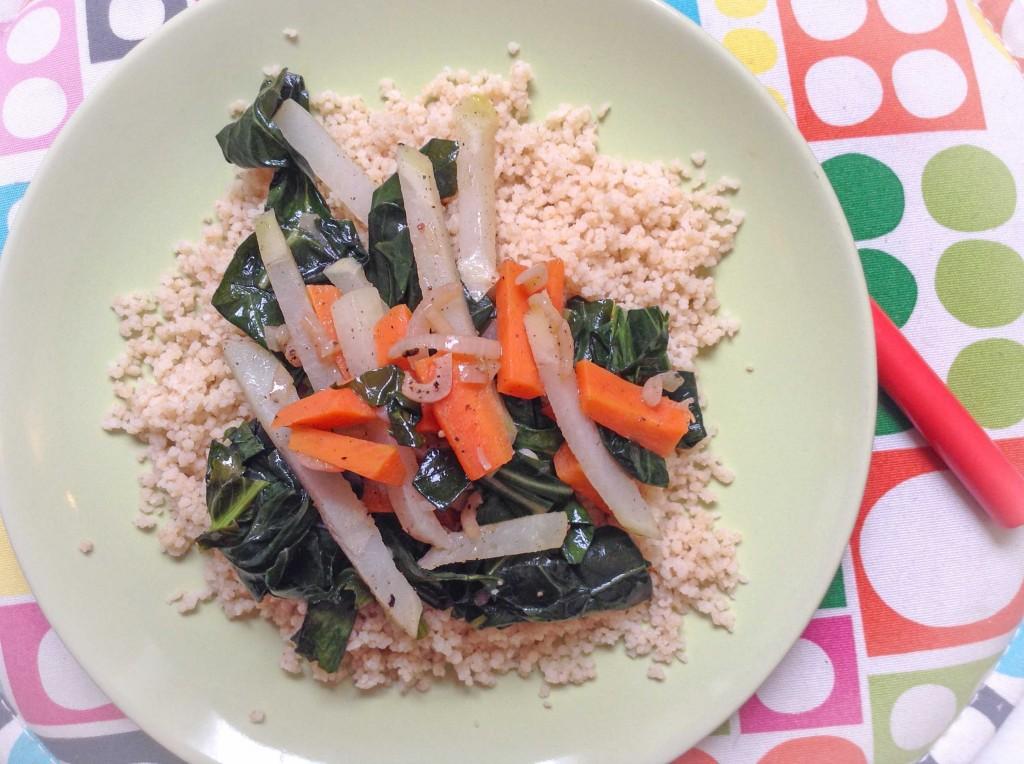 Veganes Kohlrabi-Gemüse aus der Energieküche