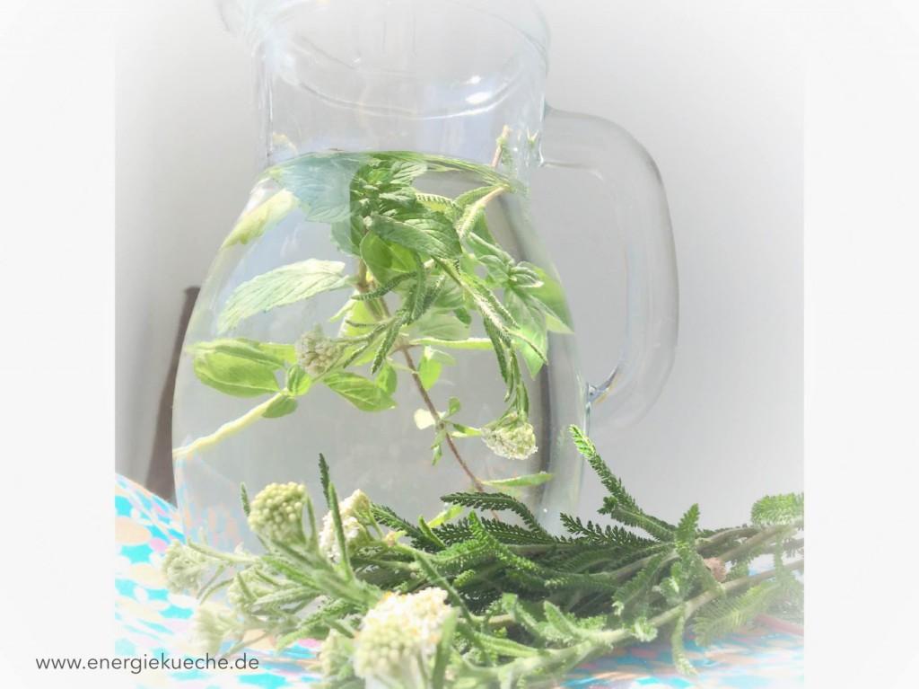 Aromawasser für den Sommer